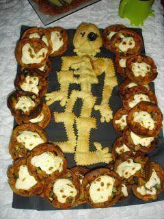 recetas esqueleto halloween