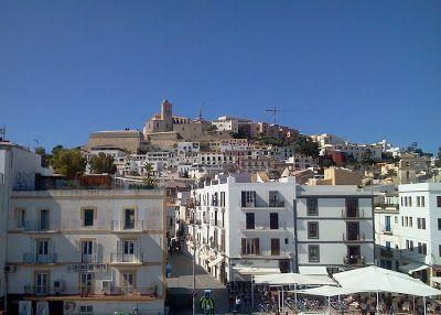 Ibiza casco antiguo Dalt Vila