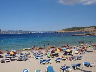 playa de Ibiza años 80
