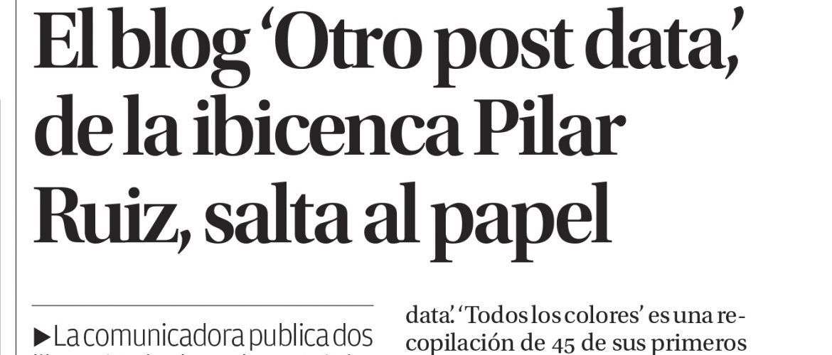 Soñé con vos, Pilar Ruiz Costa, otro Post Data